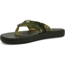 The Skiff Canvas Flip Flop