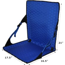 Hex 2.0 Longback Chair - Black / Royal Blue