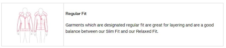 Regular Fit