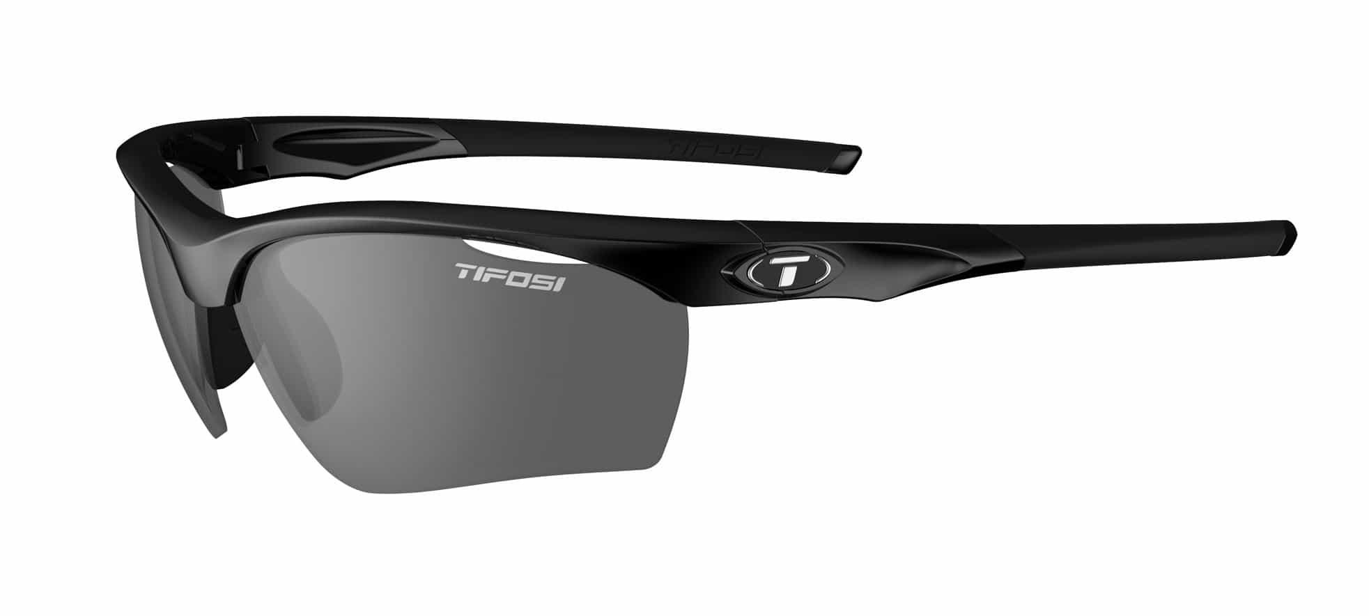 Tifosi Vero Sunglasses Gloss Black w/ Smoke Polarized