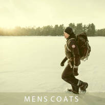 Category view for Mens Coats