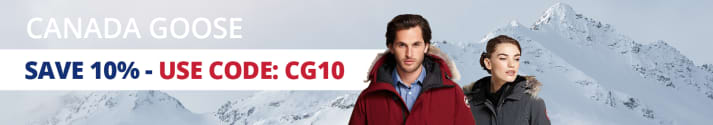 Save 10% on Canada Goose with code: CG10