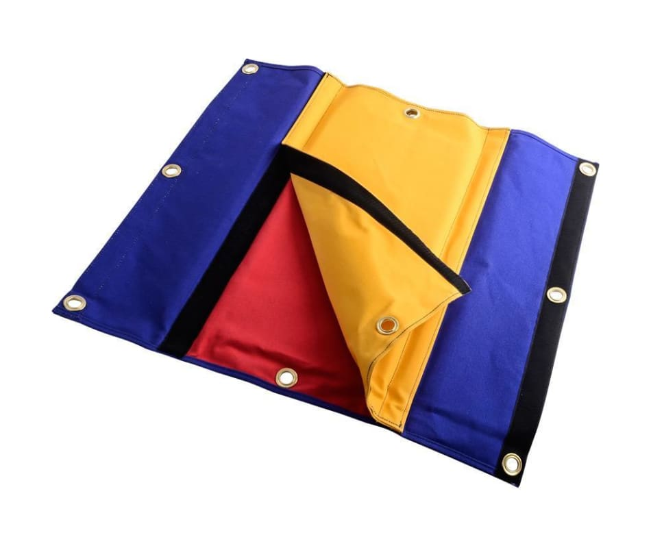 Propad Edge Mat - Blue/red/yellow