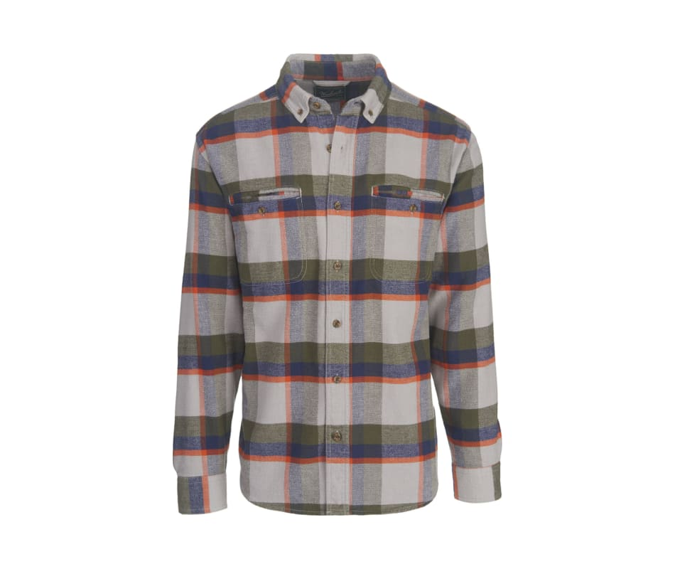 Men's Oxbow Pass Plaid Flannel Shirt