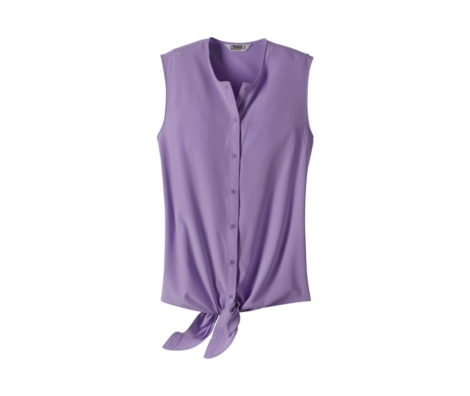 Women's Mountain Rose Sleeveless Shirt
