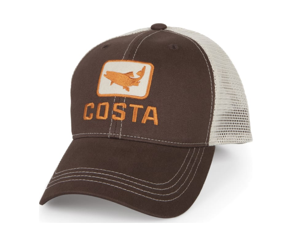 Costa Del Mar Trout Hat Brown   Stone - XL d608d7c58f1e