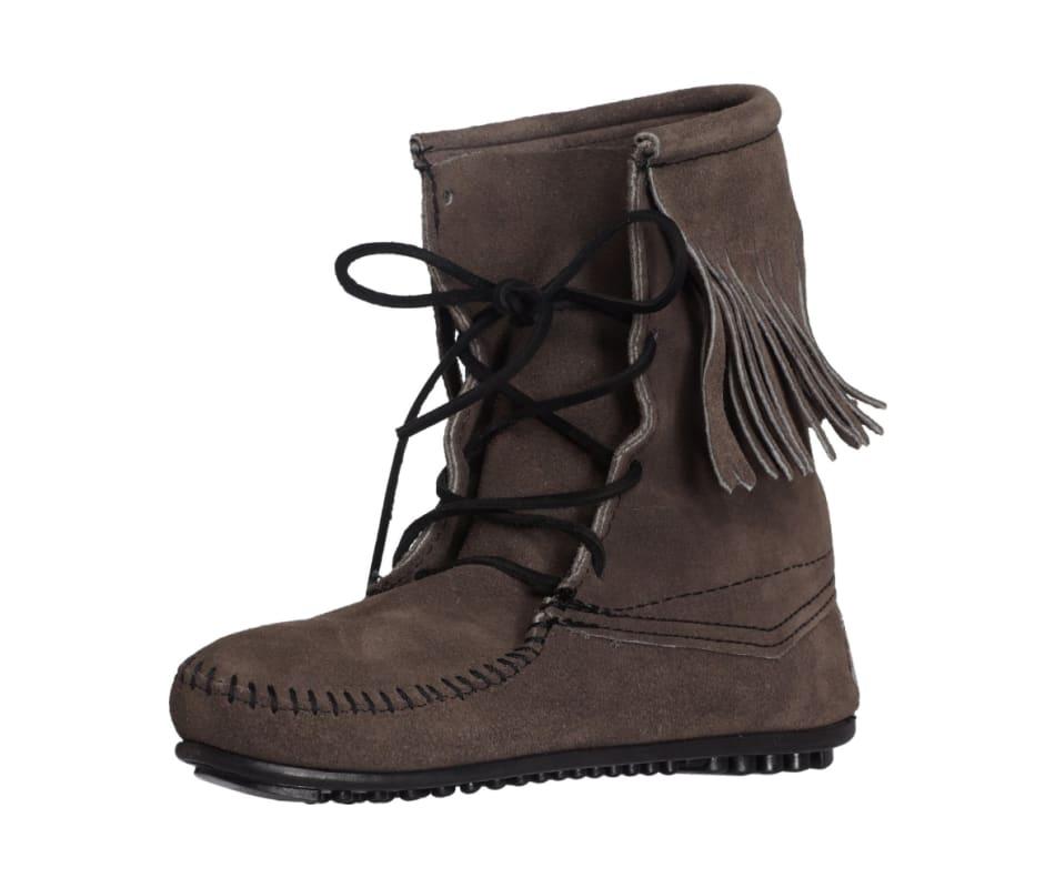 Minnetonka Women S Tramper Ankle Hi Boot Grey 6