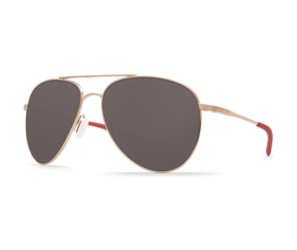 6b68849c9c Costa Del Mar Cook Sunglasses - Rose Gold - Gray 580P
