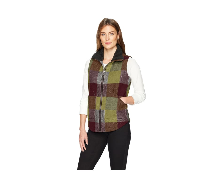 Women's Giant Buffalo Wool Vest II