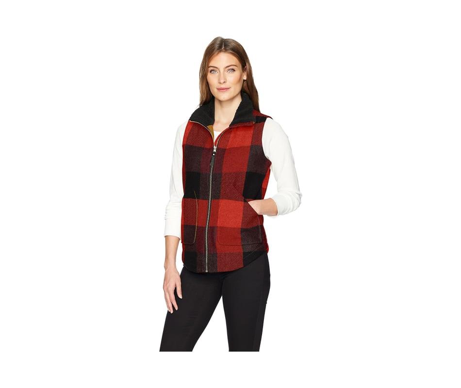 Women's Giant Buffalo Wool Vest II