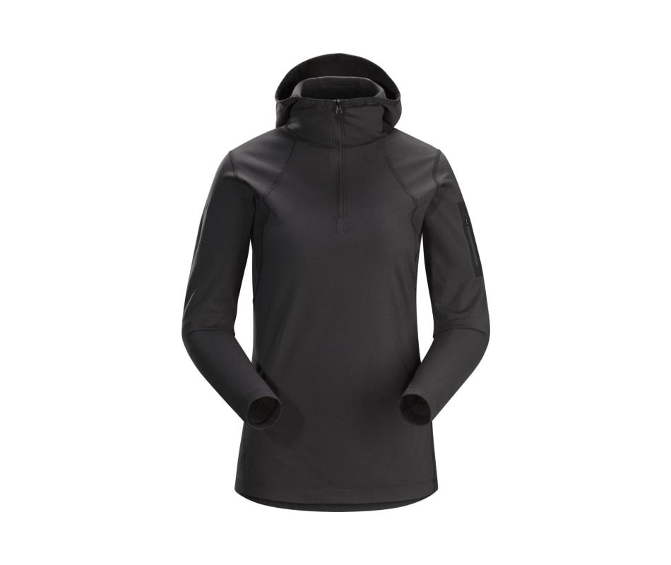 Arc'Teryx Women's Rho LT Hooded Zip Neck