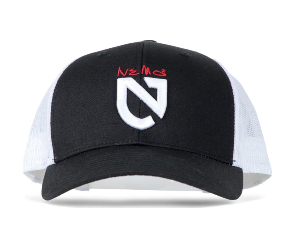 6feac5e7502dd NEMO Nemo Shield Hat - Black White