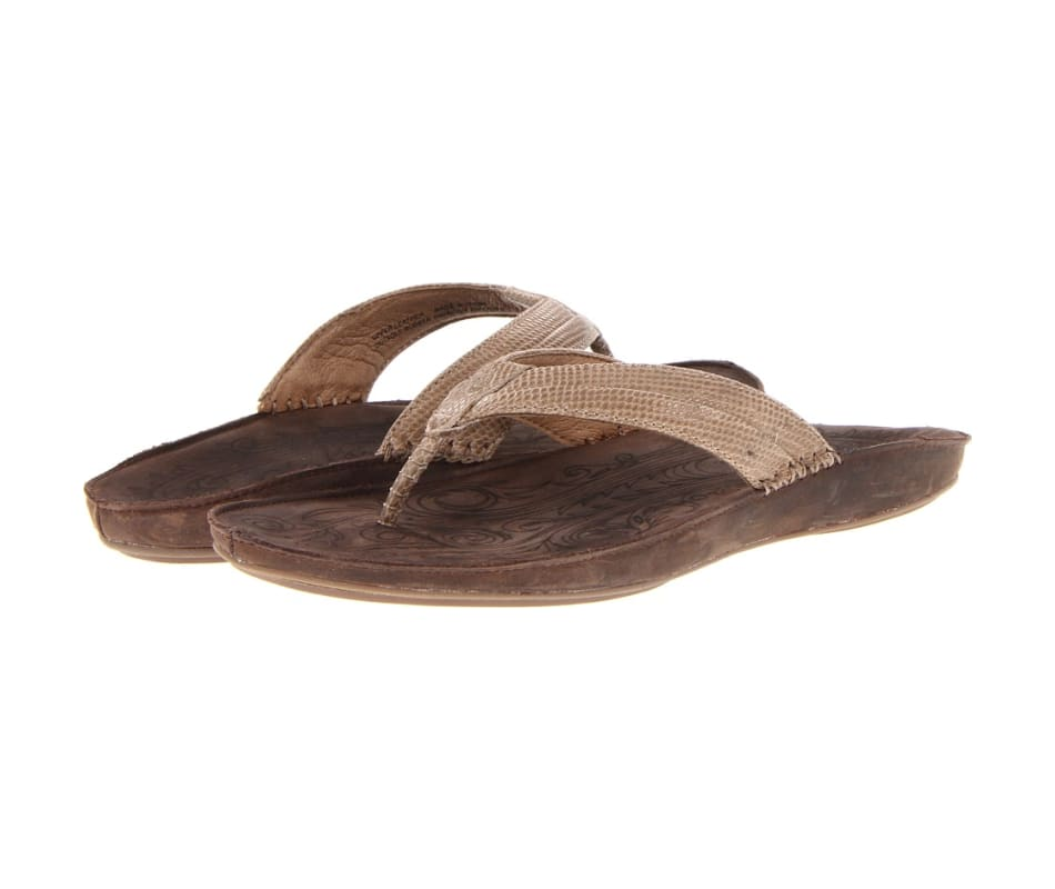 55550af69d9a7 Olukai Women s Haiku  Elua Sandal Clay Dark Java - 7