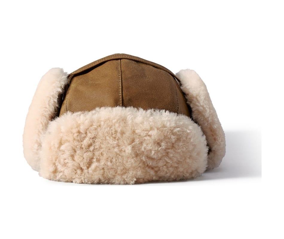 Filson Shearling Trapper Hat Dark Tan - XL 2e9a089455f