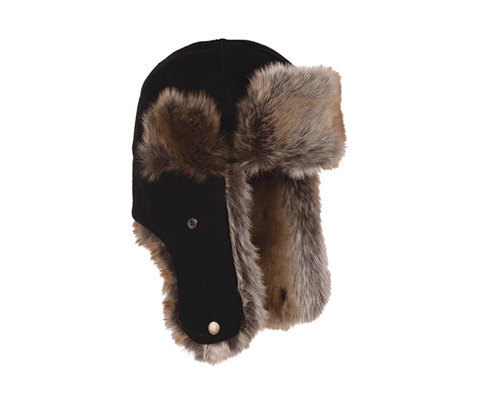 Stormy Kromer The Northwoods Trapper Hat - Black - XL 9bd839b17ca