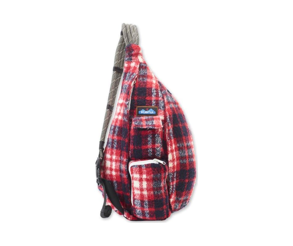 Kavu Women's Plaid Rope Bag