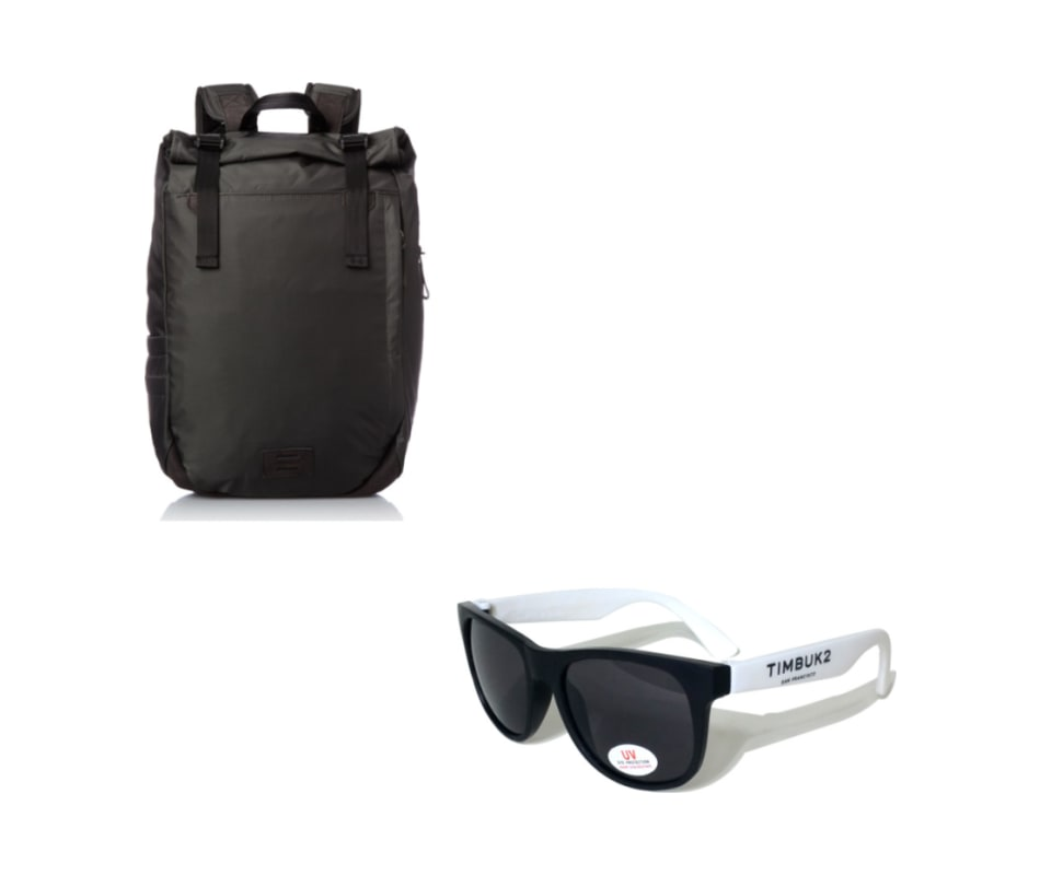 Moto Laptop Backpack with FREE Sunglasses - Charcoal