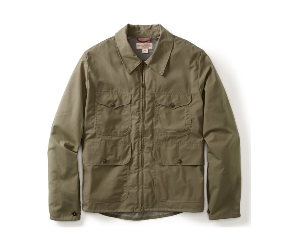 Staywax Cover Cloth Bell Bomber Jacket