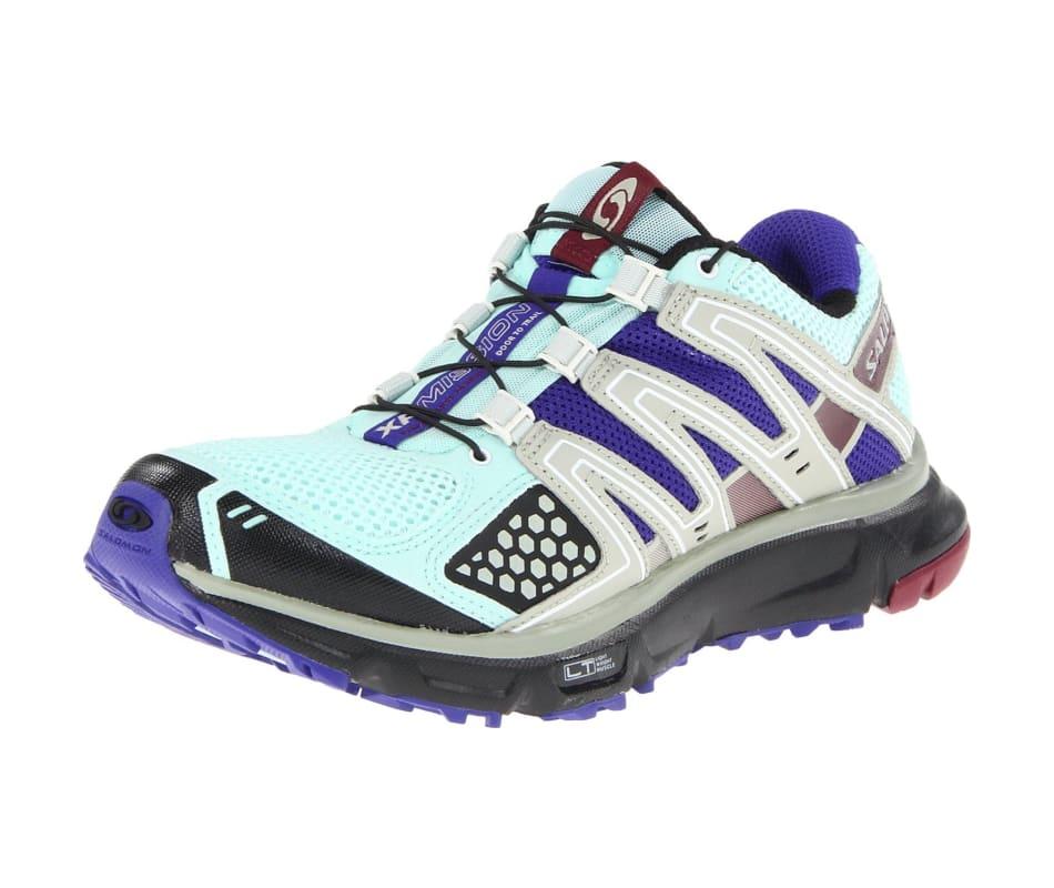 f3ecd2606ea9 Salomon Women s XR MISSION Running Shoe - Igloo Blue  Blue   Black