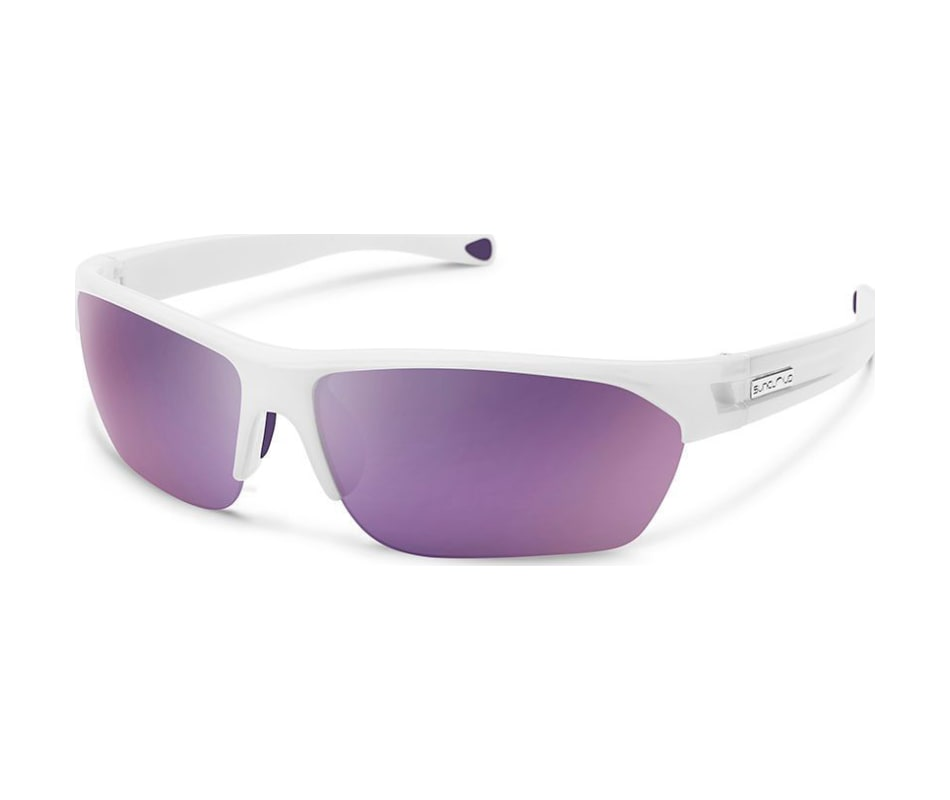 852c1dc4d4 Suncloud Detour Sunglasses White Purple Mirror Polycarbonate