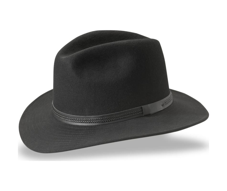 4cc976b0 T3 Wanderer Black Tilley Hats: Tilley TWF1 Montana Hat Black