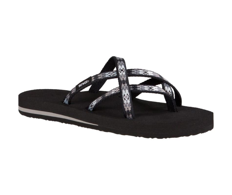 60de9b15547d8 Teva Women s Olowahu Sandal Pana Black Grey - 6