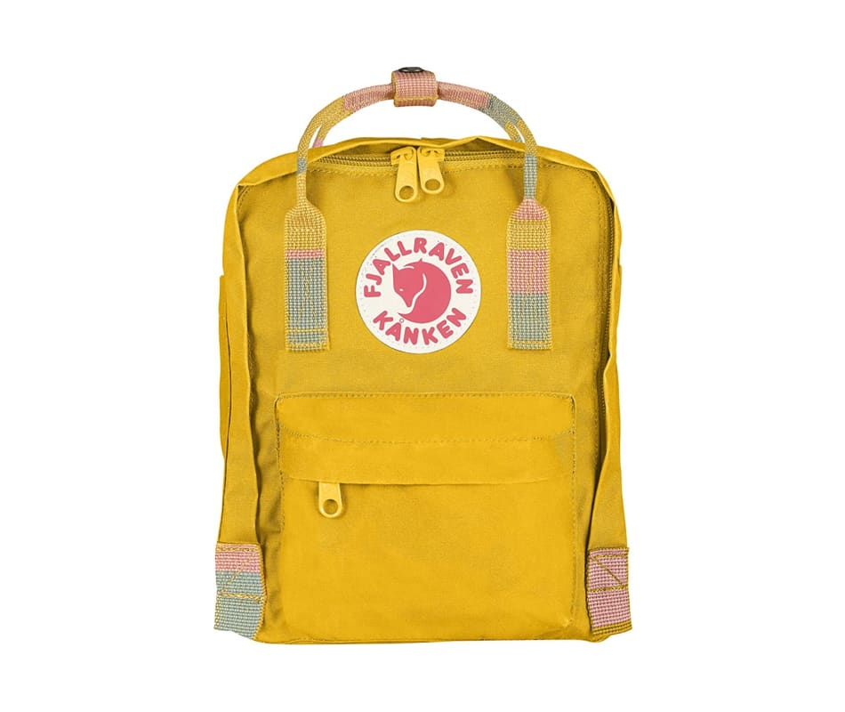 bbaf636e3356 Fjallraven Kanken Mini - Warm Yellow Random Blocked