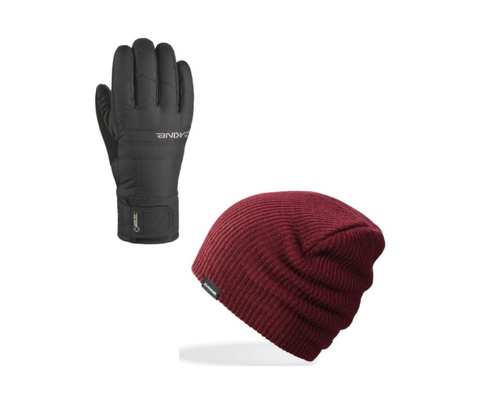 Men's Bronco Glove with  Men's Tall Boy Beanie