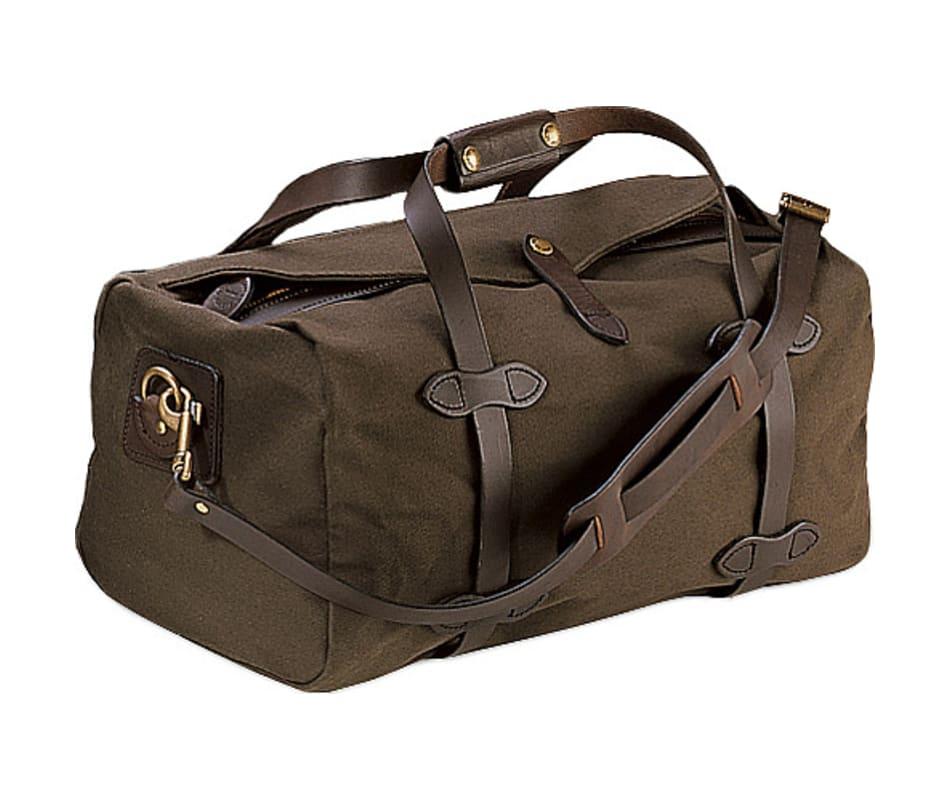 c07d9143c0c026 Filson Medium Duffle Bag Dark Brown