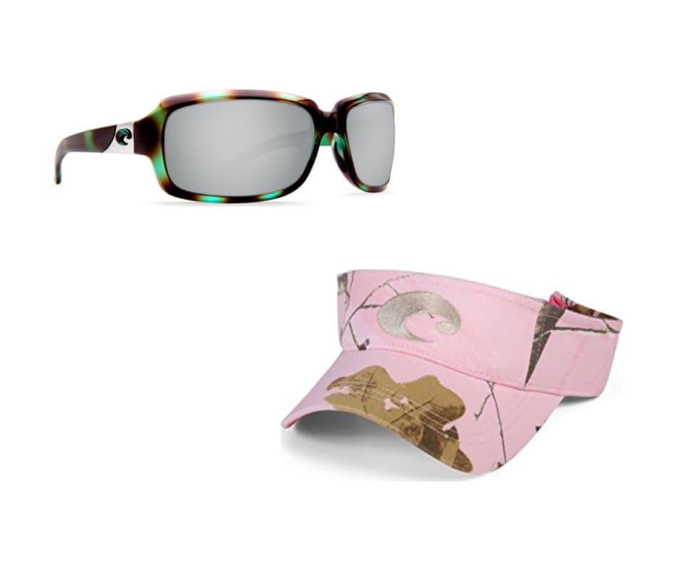 4e398d51c3 Costa Del Mar Women s Isabela Sunglasses - Shiny Seagrass - Silver ...