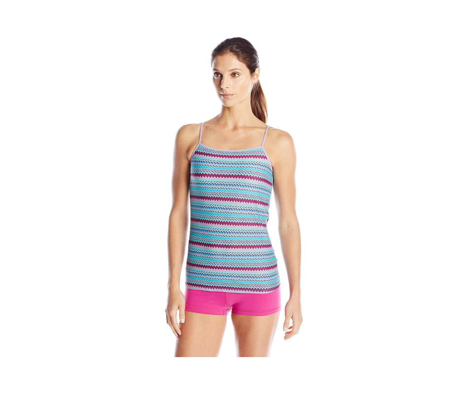 0a2808348d Exofficio Women s Give-n-go Print Shelf Bra Cami - Deep Sea Stripe - M