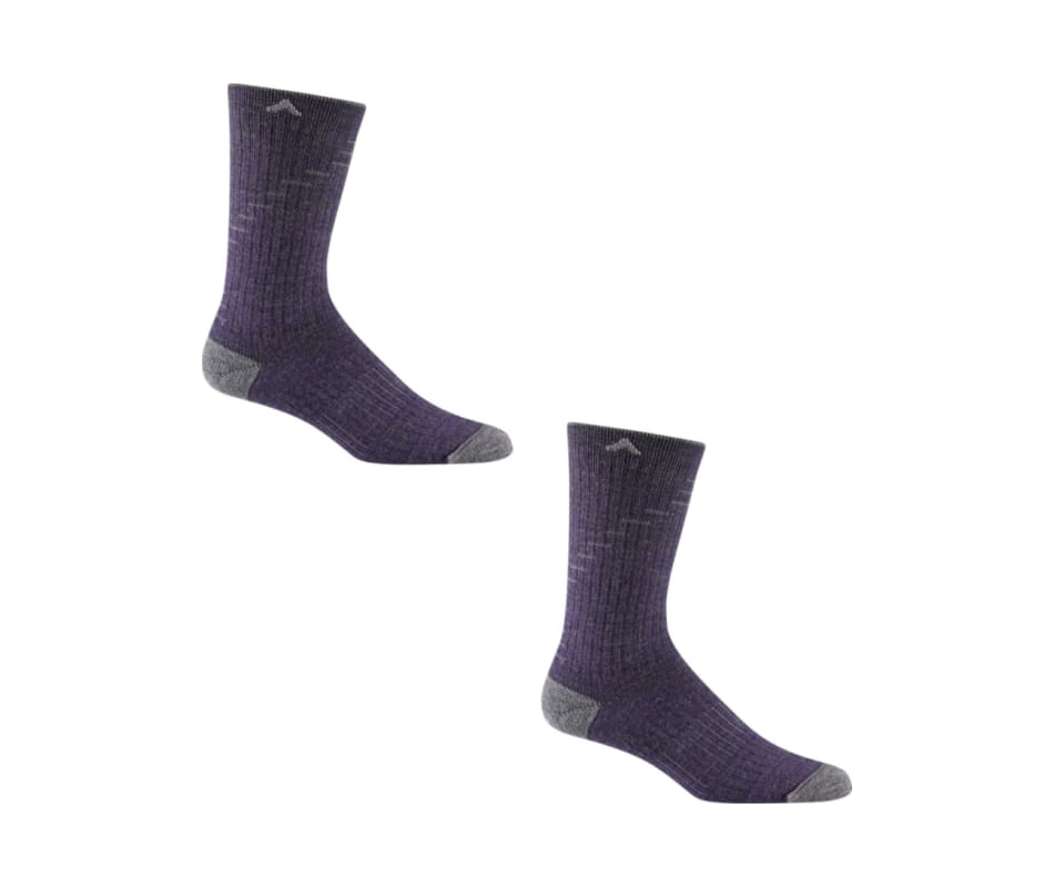 Hiker Essential Socks - Purple - M 2 Pack