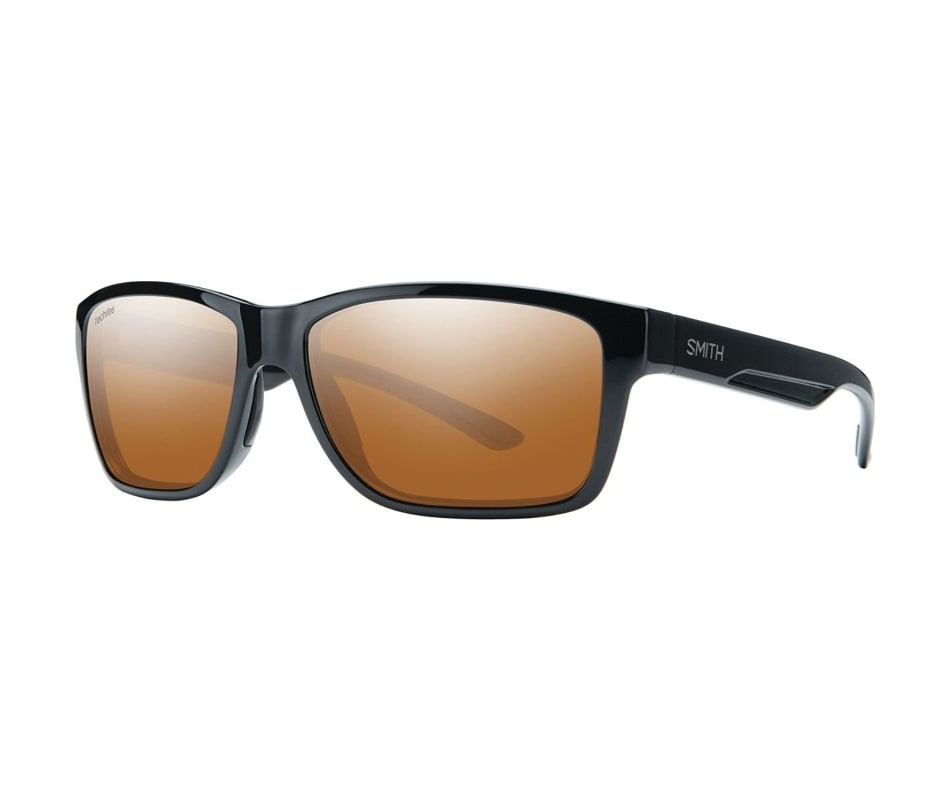Smith Wolcott Polarized Sunglasses Black Techlite Glass