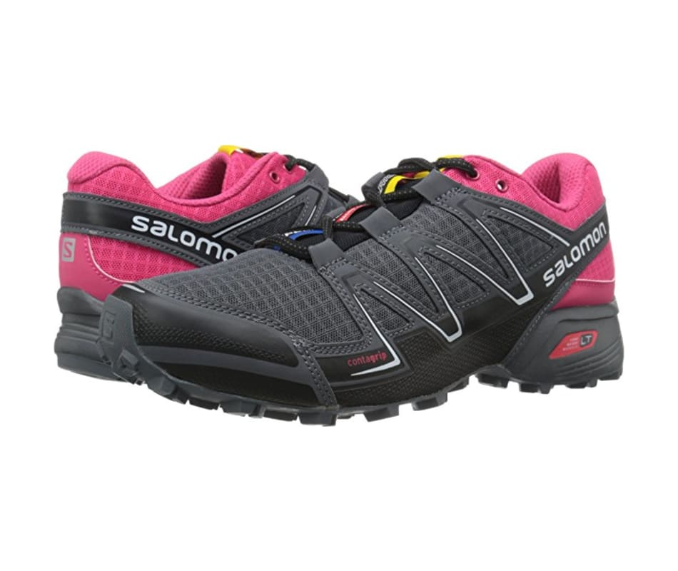 ff54ce2fffc0 Salomon Speedcross Vario W - Black Hot Pink Dark Cloud - 9