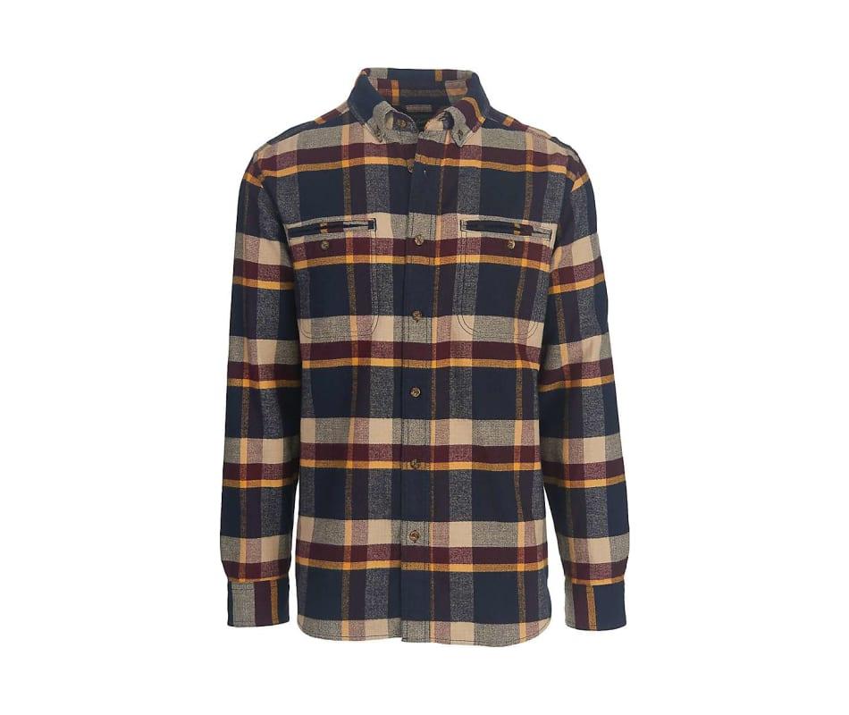 Men's Oxbow Pass Plaid Flannel Shirt