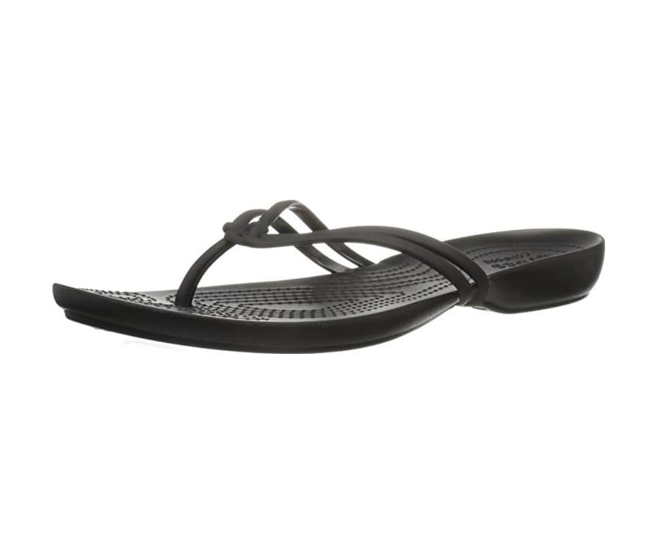 3bd6537160c751 Crocs Women s Crocs Isabella Flip Black Black - W6