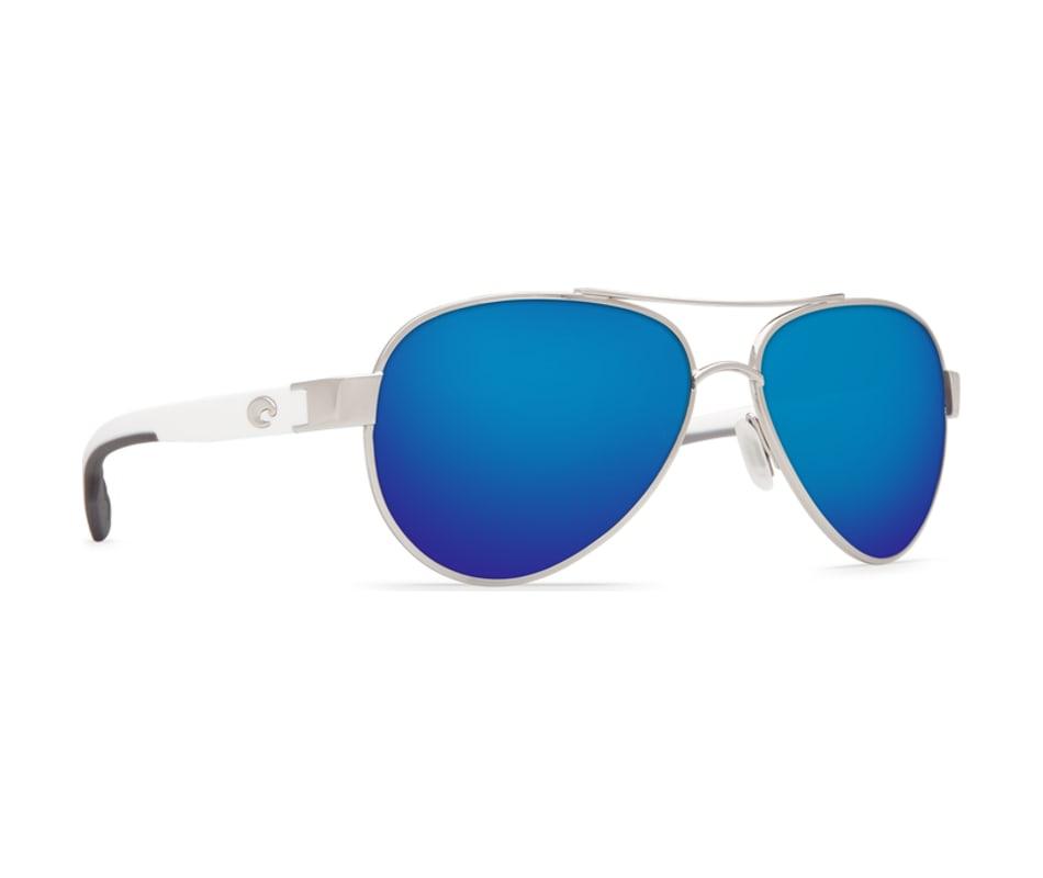 eb48ded99354a Costa Del Mar Women s Loreto Sunglasses - Palladium W White ...