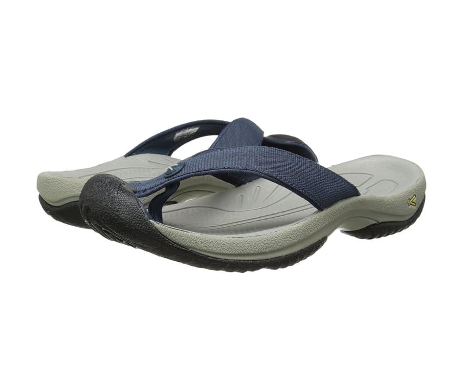 faf804fc55a1 Keen Men s Waimea H2 Sandals Midnight Navy Neutral Gray - 10.5