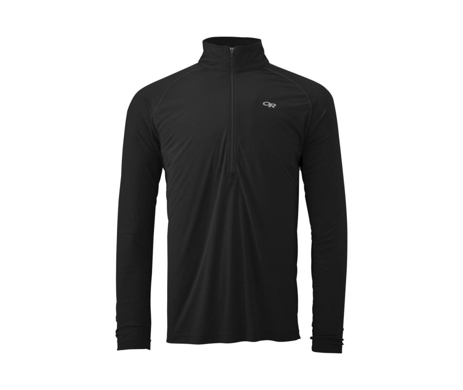Outdoor Research Shirt Men/'s Echo L//S Zip Tee