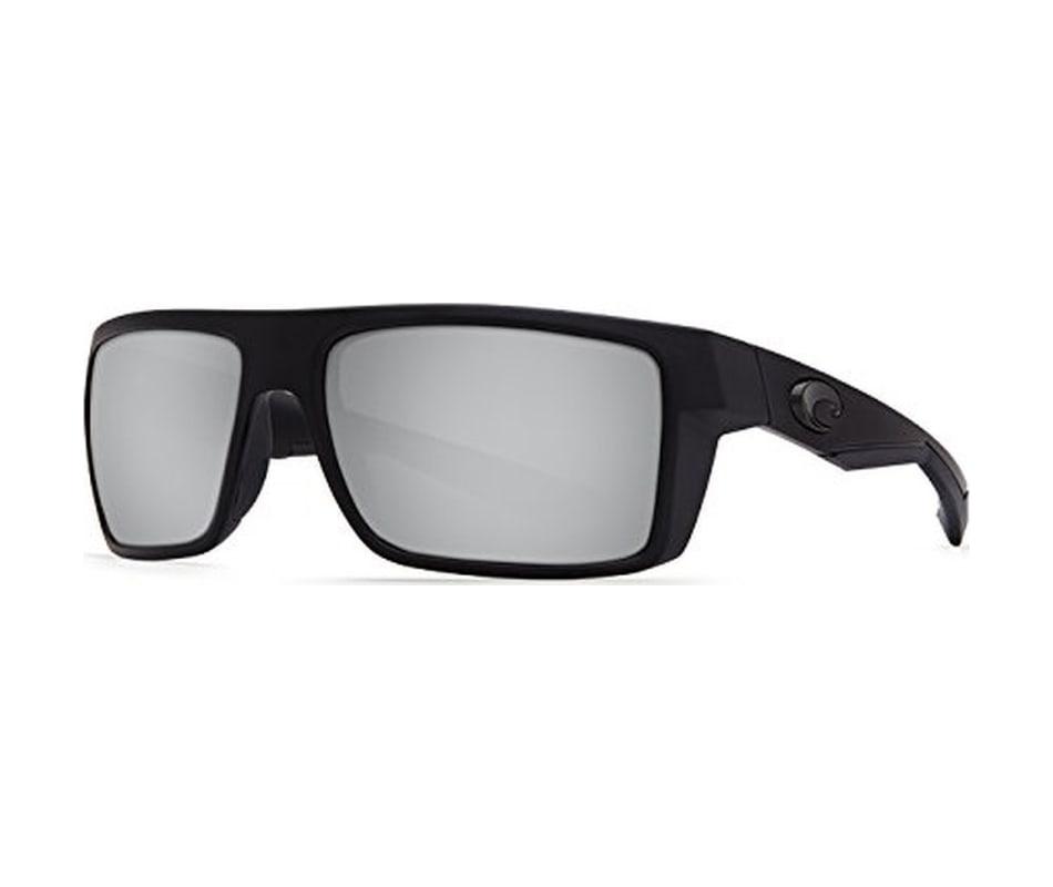 5593d6061ff36 Costa Del Mar Men s Motu Sunglasses - Blackout - Silver Mirror Glass ...