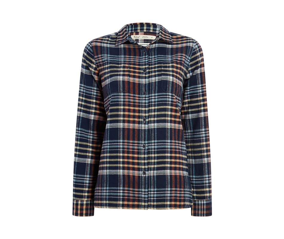 Women's The Pemberton - Navy Plaid - XL