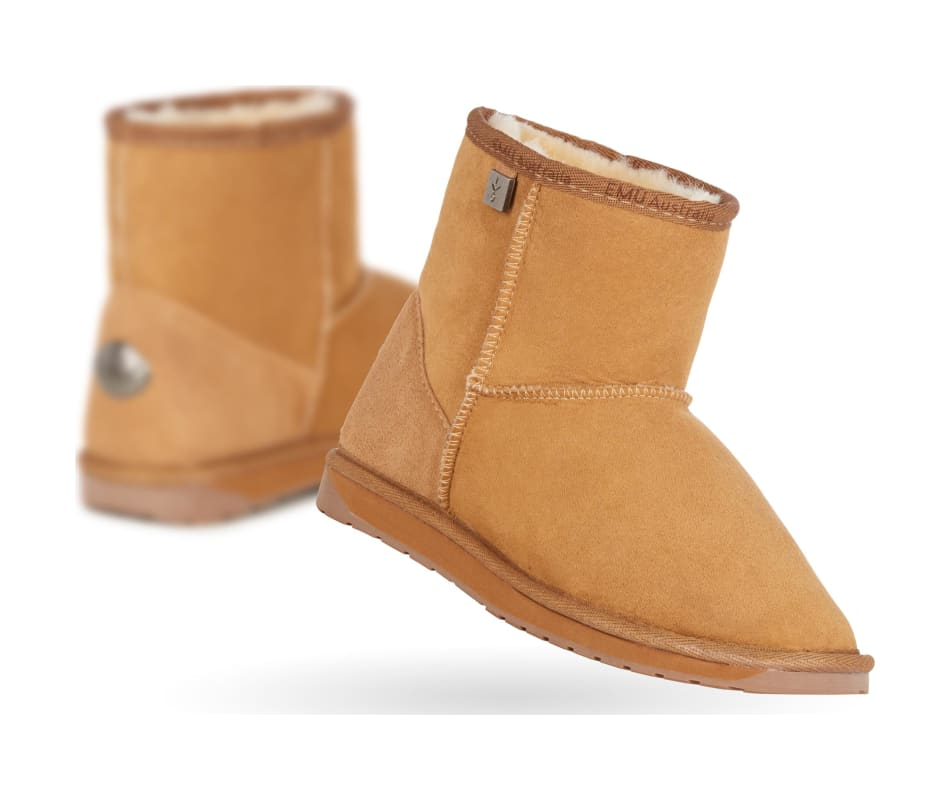 Womens Sheepskin Stinger Mini Boots