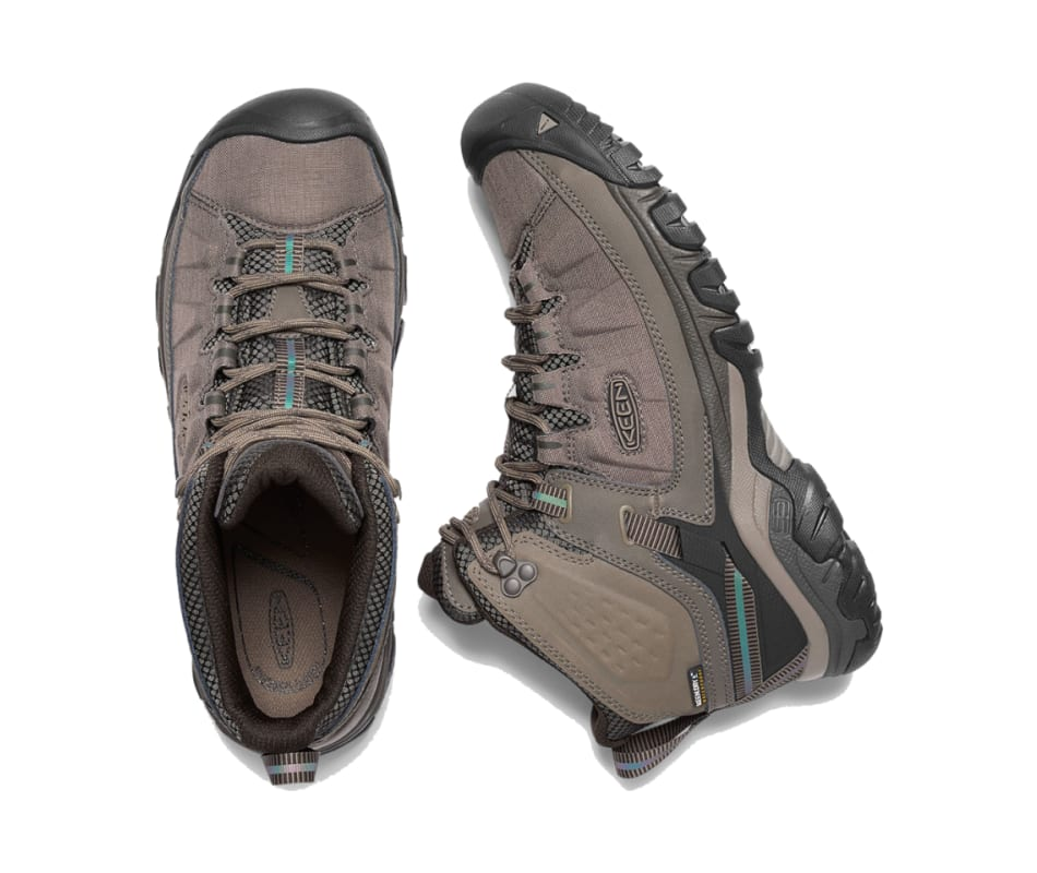 b6bc3ec4e228 Keen Footwear Men s Targhee Exp Mid Wp - Bungee Cord Brindle - 9.5