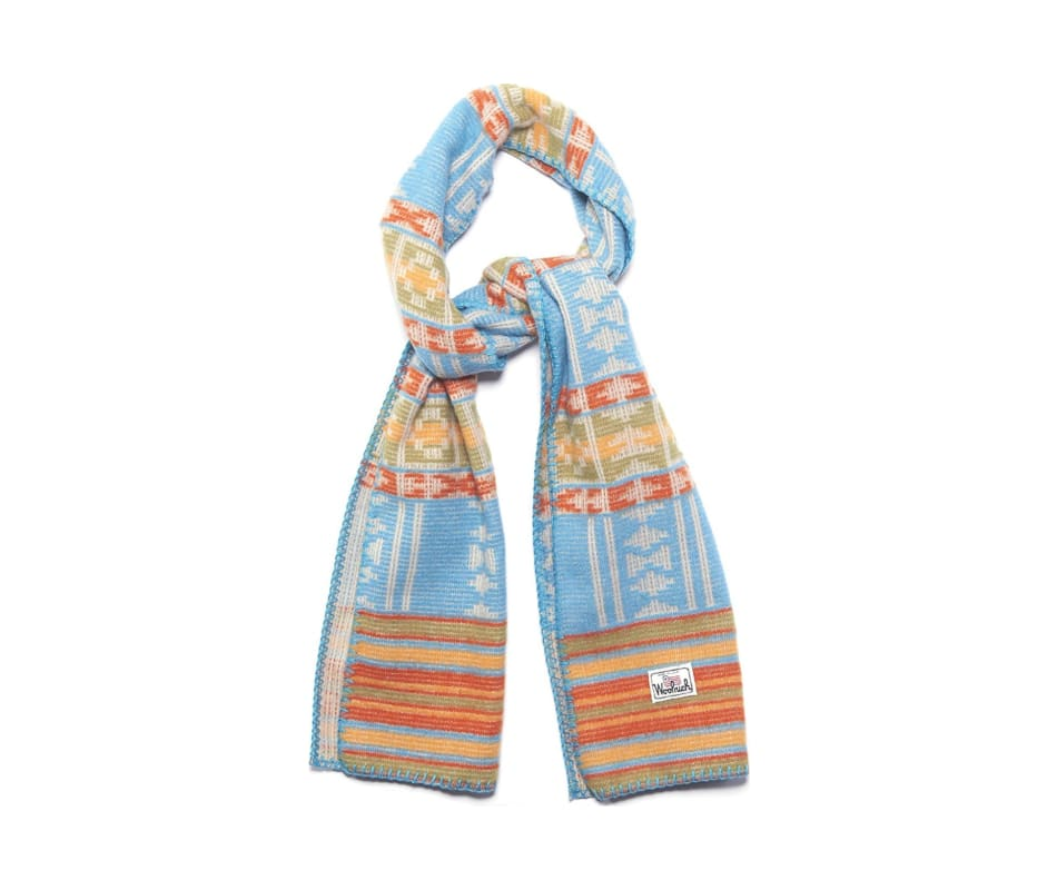 Men's Soft Wool Jacquard Scarf
