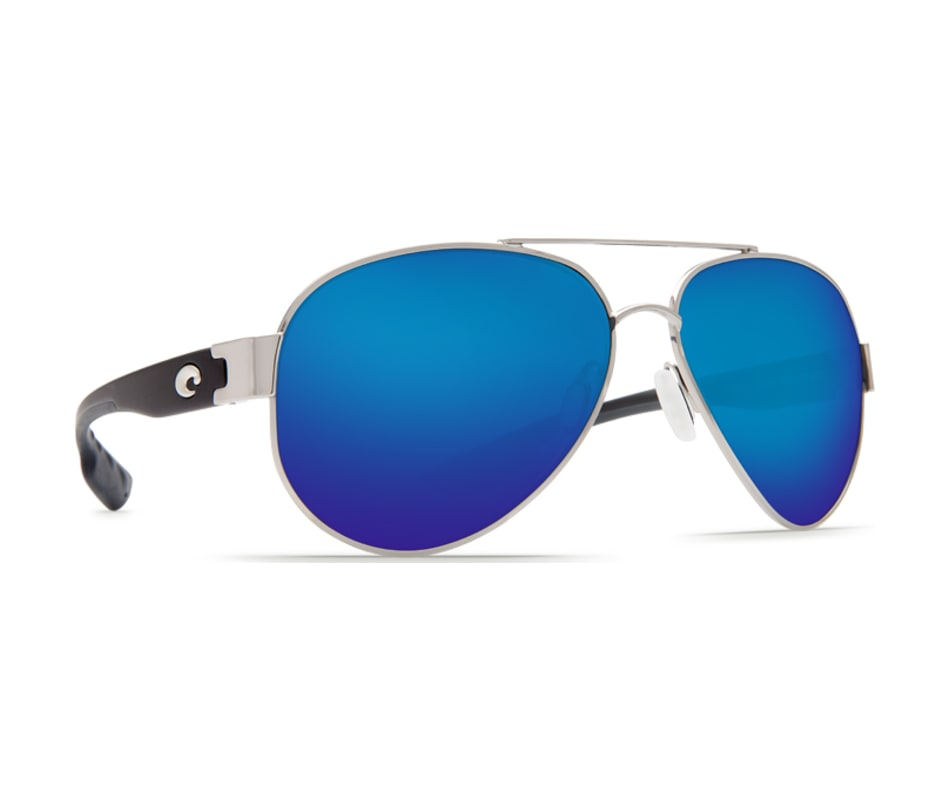 be23db5839 Costa Del Mar South Point Sunglasses - Palladium Silver Frame   Blue ...
