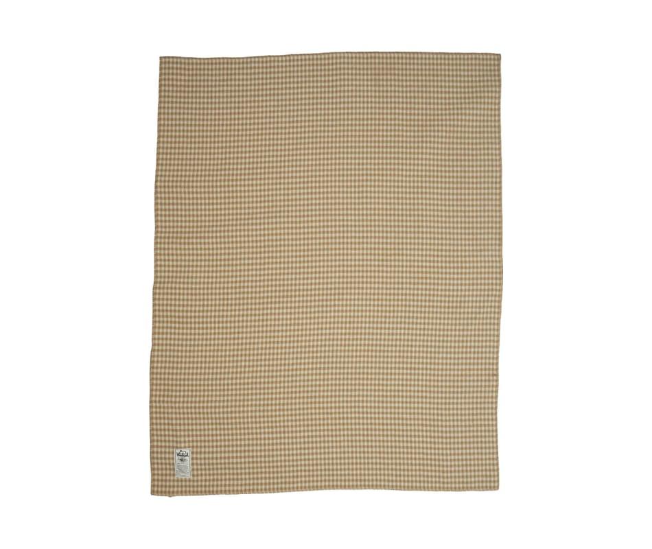 Mini Buffalo Double-Face 100% Soft Wool Blanket