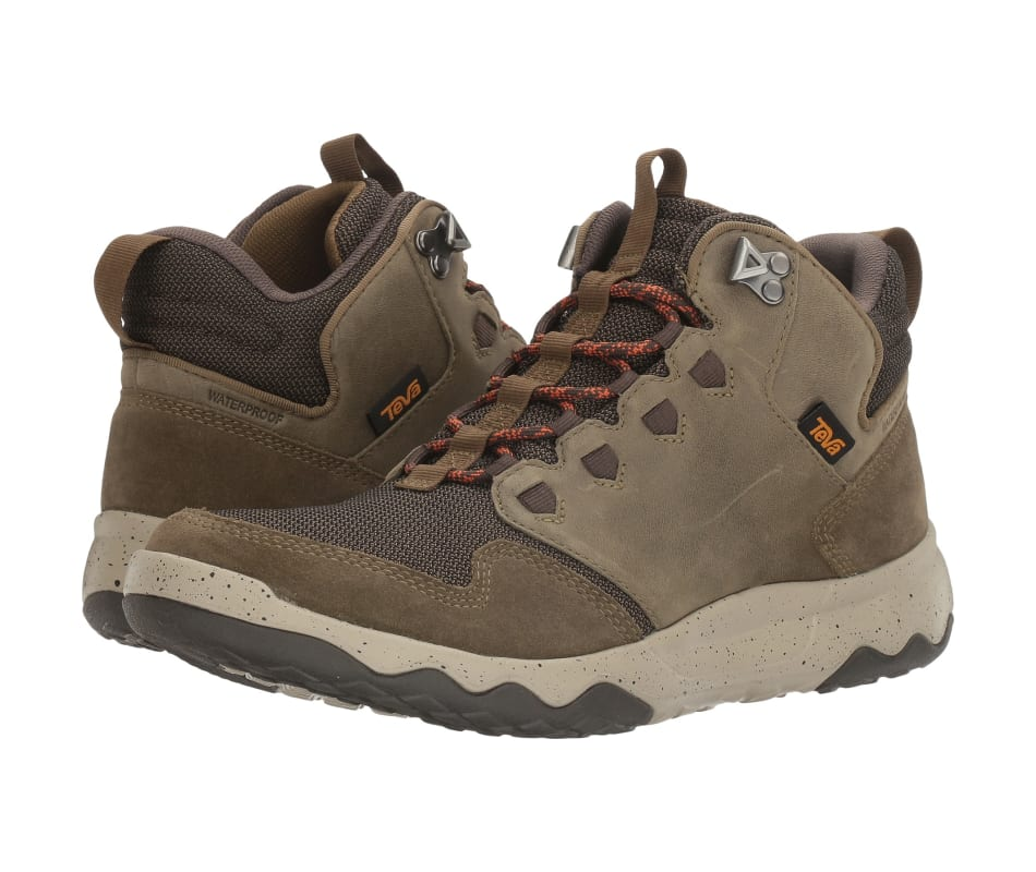 64384930ff4 Teva Men's Arrowood Mid Wp Dark Olive - 10
