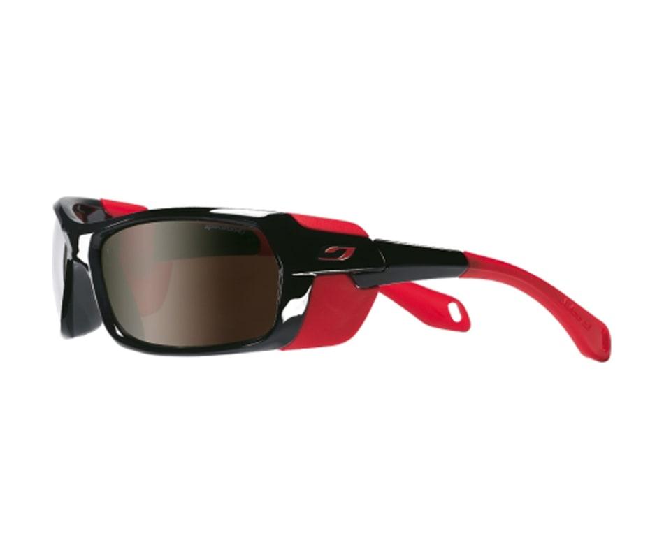 5218d929a1 Julbo Bivouak Sunglasses Shiny Black Red