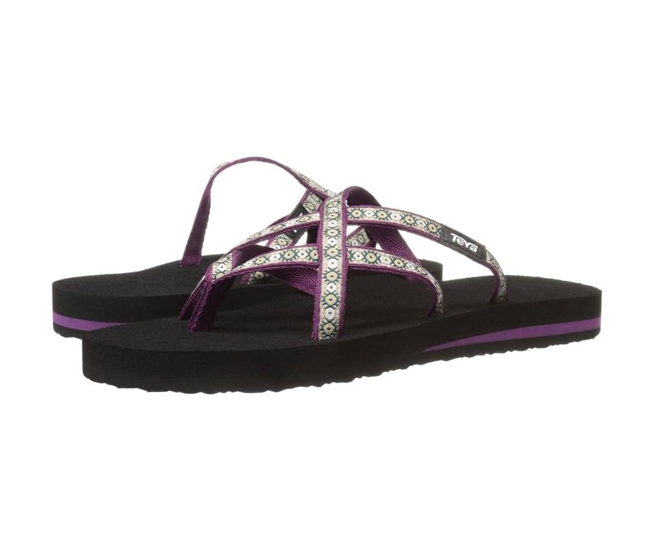 3c37dccdf Teva Women s Olowahu Sandal Lola Dark Purple - 8