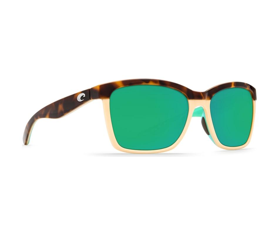690be567964e6 Costa Del Mar Women s Anaa Sunglasses Shiny Retro Tort Cream Mint